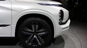 Mitsubishi GT-PHEV Concept - futurystyczny SUV (Targi Paryż 2016)