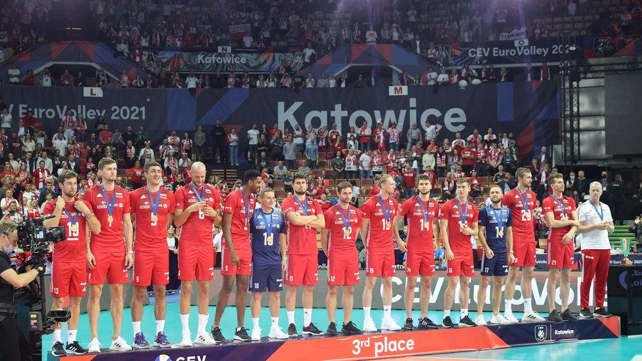Reprezentanci Polski zdobyli brązowy medal mistrzostw Europy w siatkówce