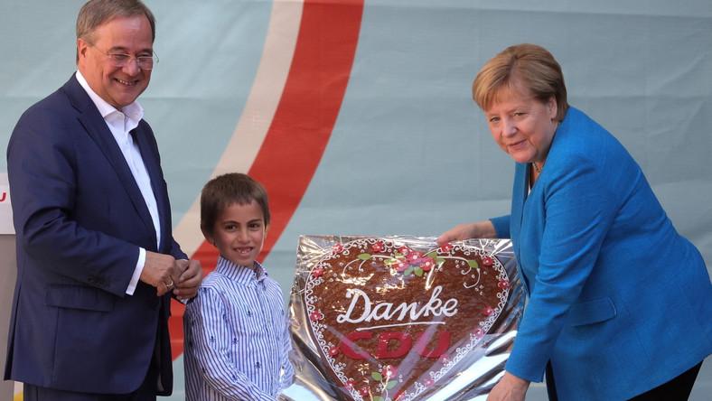Angela Merkel i Armin Laschet