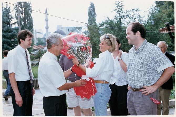 Princeza Dajana u poseti Bosni i Hercegovini pre smrti