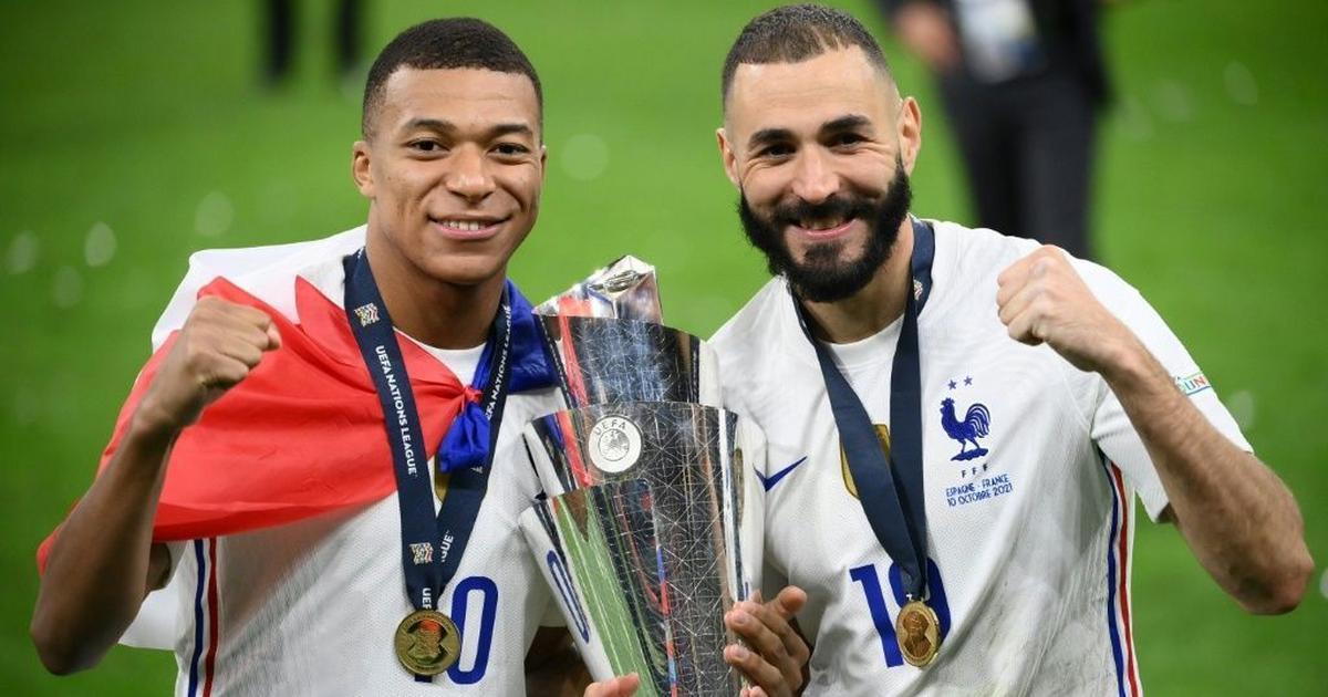 Deschamps hails 'improved' Benzema's maturity after Nations League triumph