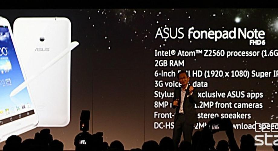 Asus FonePad Note FHD6: 6-Zoll-Full-HD-Tablet