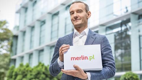 Łukasz Szczepański, prezes Topmall - spółki, która prowadzi sklep internetowy merlin.pl