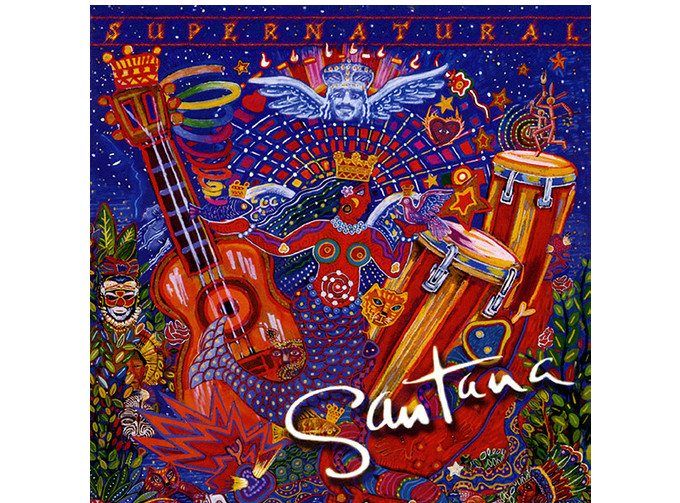 "Carlos Santana - ""Supernatural"""