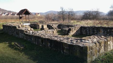 Ostaci Saborne crkve iz 13. veka