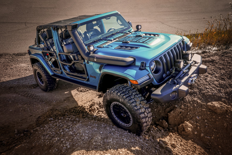 Jeep Wrangler Rubicon z pakietem Mopar Performance
