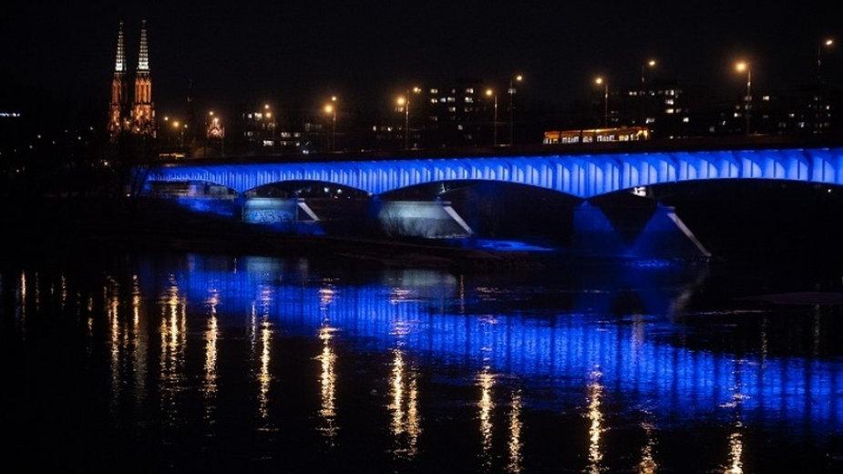 W ramach protestu samorządów w Warszawie wyłączone zostanie oświetlenie m.in. mostu Śląsko-Dąbrowskiego