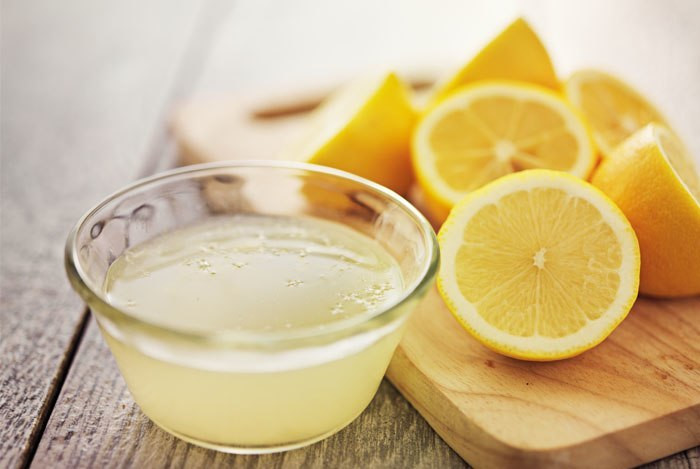 Lemon juice is loaded with Vit c that helps keep the skin bright and youthful