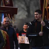 MILIČIĆ NA ČELU KOLONE Moleban u Sremskoj Kamenici, podrška vernicima u Crnoj Gori (FOTO)