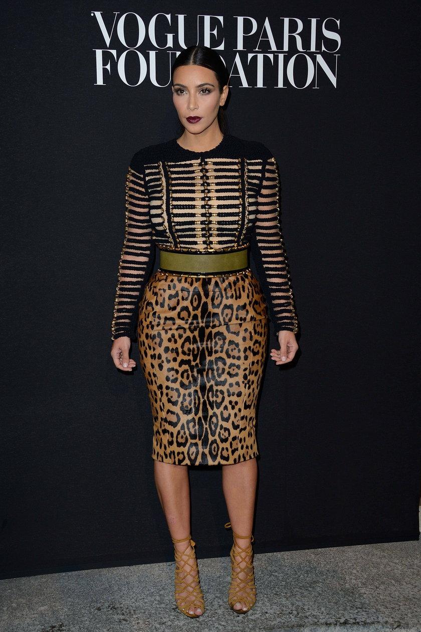 Kim Kardashian na gali Vogue Foundation