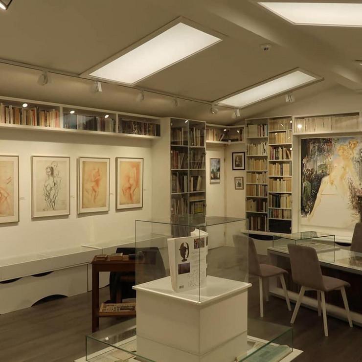 Sređen prostor Ljubin atelje