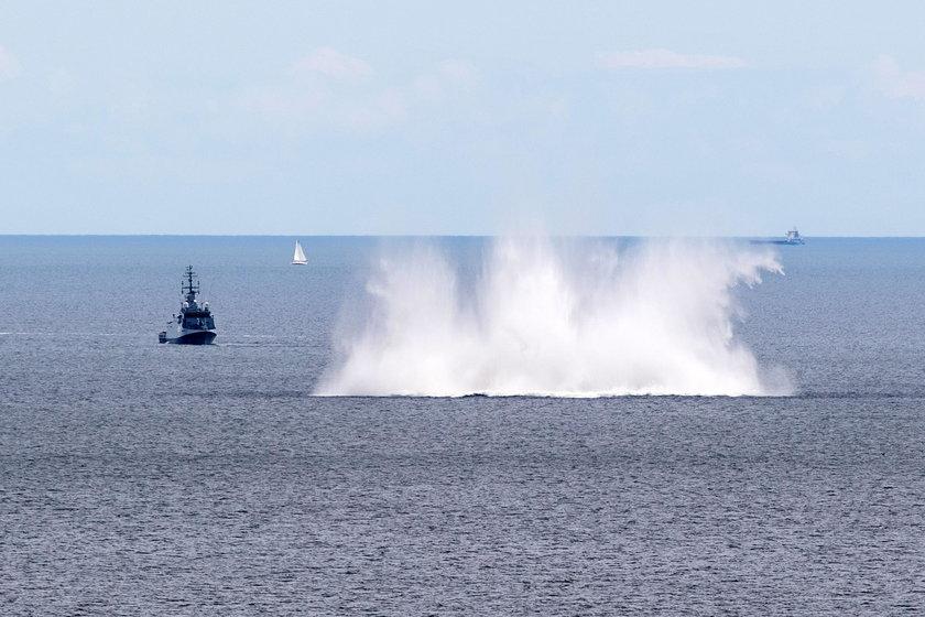 Marynarka Wojenna detonowała minę z czasów II wojny światowej