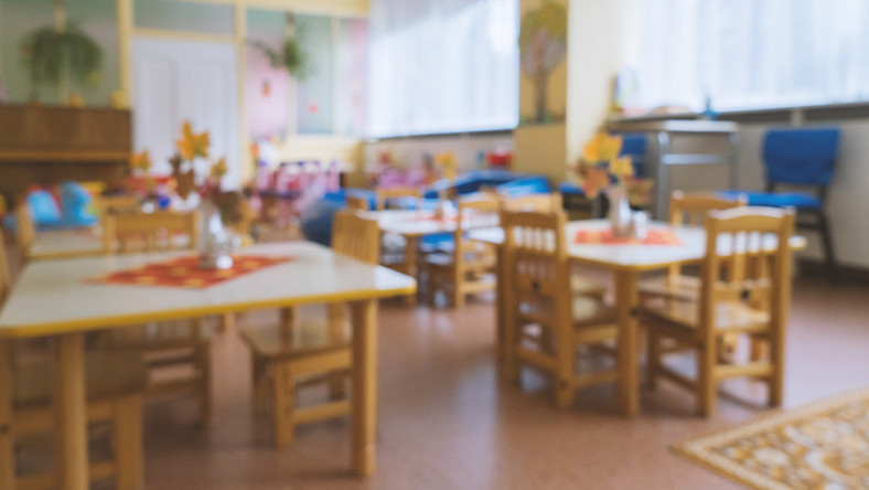 zamknięte przedszkole szkoła z powodu koronawirusa/Fot. Shutterstock