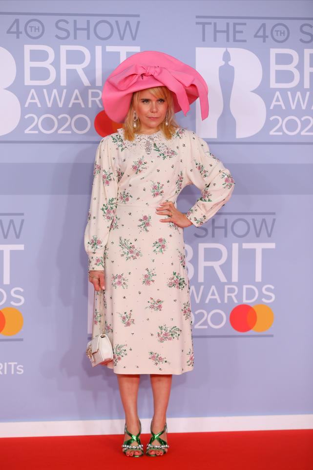 Brit Awards 2020: Paloma Faith
