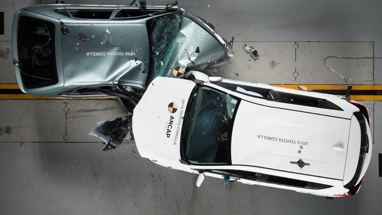 Toyota crashtest