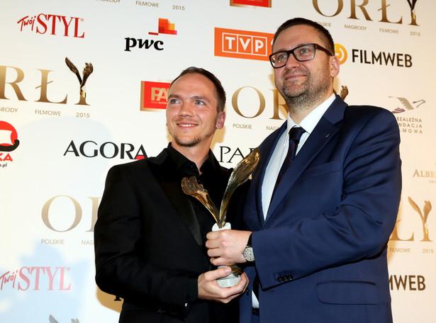 Reżyser Jan Komasa i dyrektor muzeum Powstania Warszawskiego Jan Ołdakowski