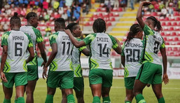 Super Falcons of Nigeria beat Mali 2-0 in the first game of Aisha Buhari Cup (Instagram)