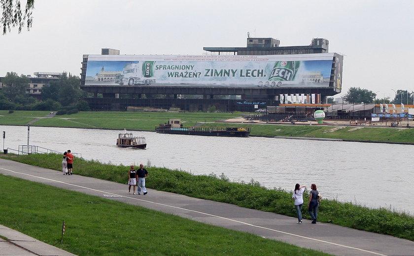 Krakowianie nie chcą reklam w mieście