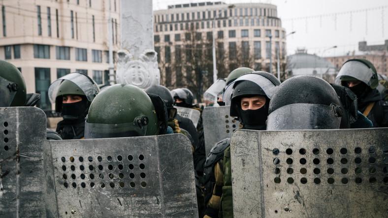 Białoruska policja