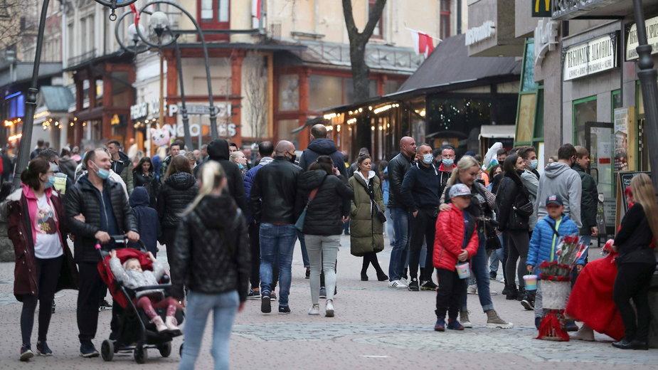 Weekend majowy w Zakopanem spędziło blisko 20 tys. turystów