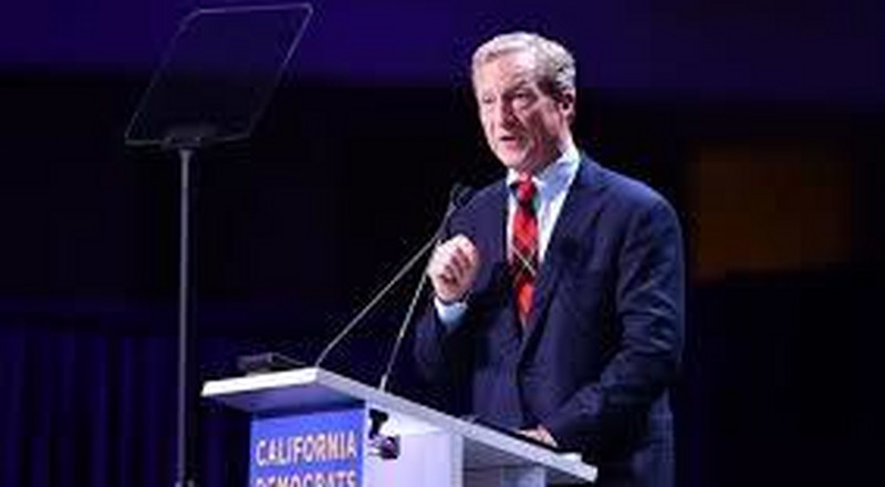 Call him a progressive, Tom Steyer asks, but don't call him rich