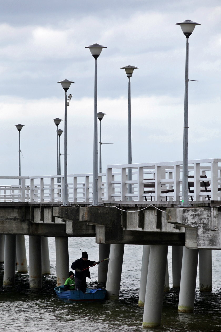 Molo w Gdańsku Brzeźnie przechodzi lifting