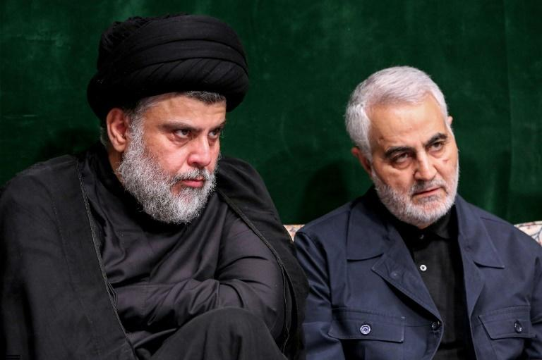 Iran's pointman for Iraq, senior Revolutionary Guards commander Qasem Soleimani, is in regular contact with Iraqi Shiite leaders, including populist cleric Moqtada al-Sadr