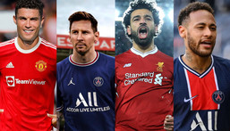 Ronaldo overtakes Messi as top 10 highest-paid footballers are revealed; see full list