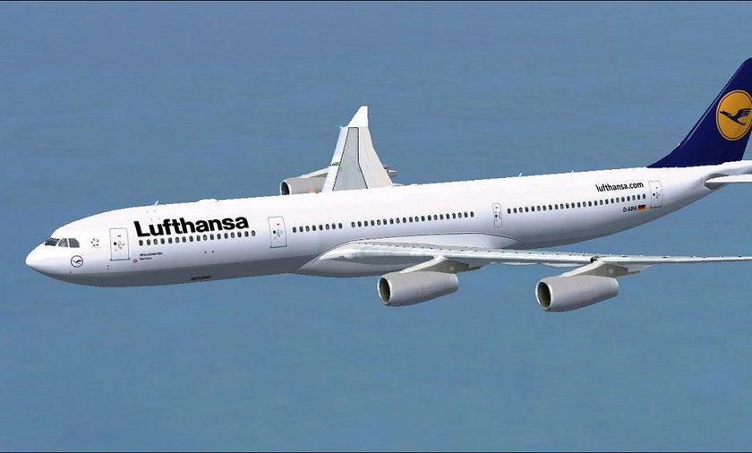 Awaryjne lądowanie samolotu Lufthansy
