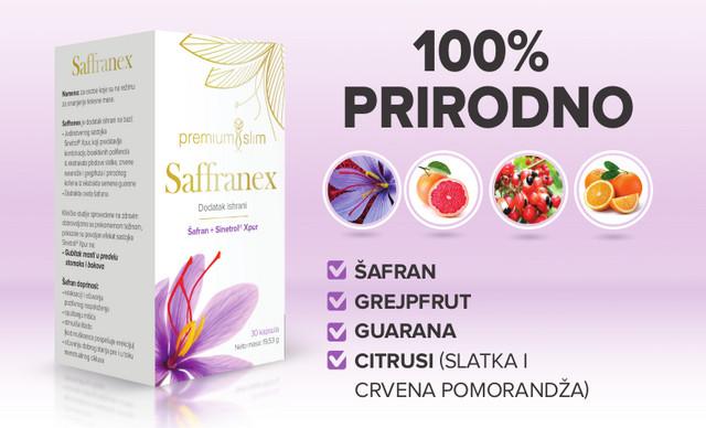 Saffraneks je prirodni suplement