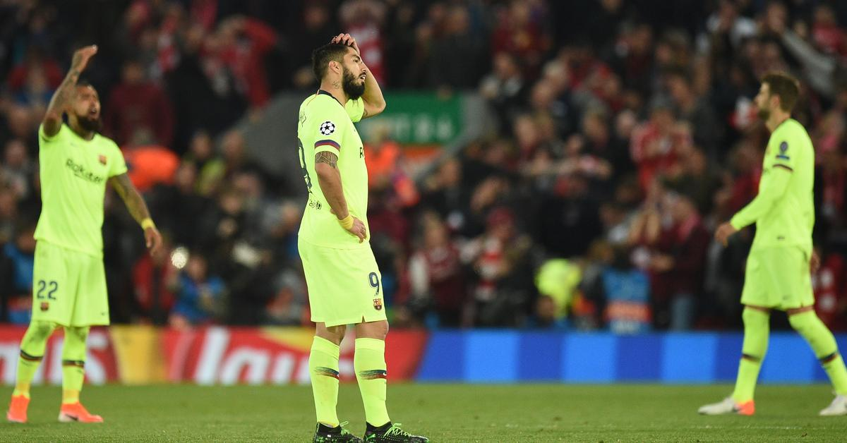 b75e822d2 Liverpool – FC Barcelona 4: 0. Spanish media after the match