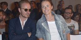 Olga Frycz i Jacek Borcuch razem na pokazie mody