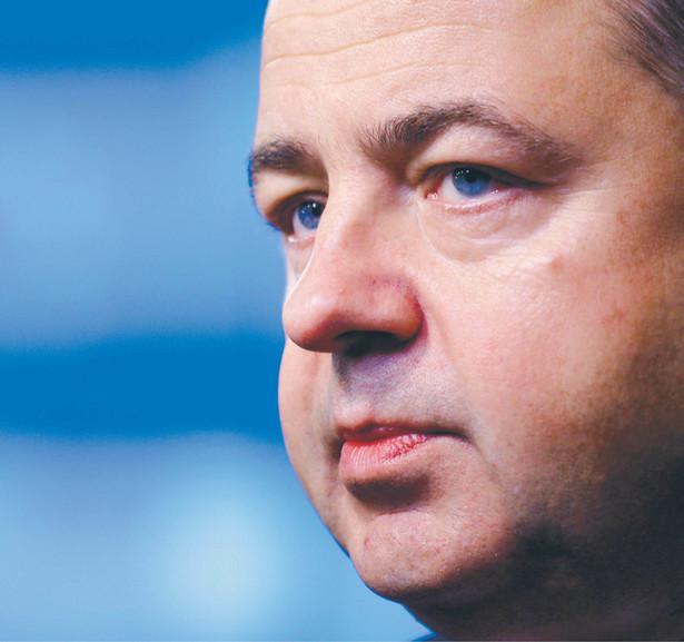 Konrad Szymański, minister ds. europejskich fot. Alexandros Michailidis/Shutterstock