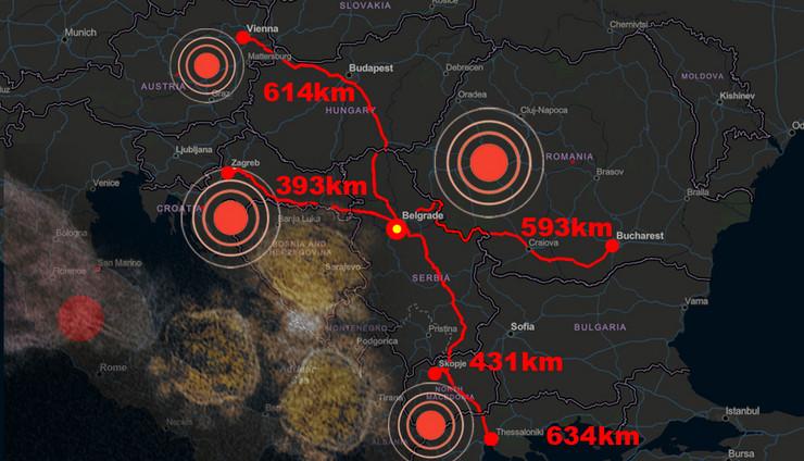 Korona virus sve bliži Srbiji