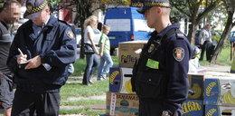 Szok! W Łodzi straż miejska handluje pietruszką