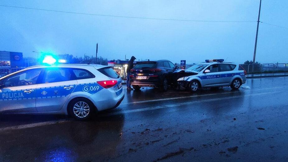 Wypadek w Skawinie