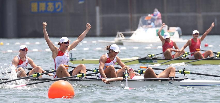 Mamy pierwszy medal w Tokio! Srebro czwórki podwójnej kobiet w wioślarstwie