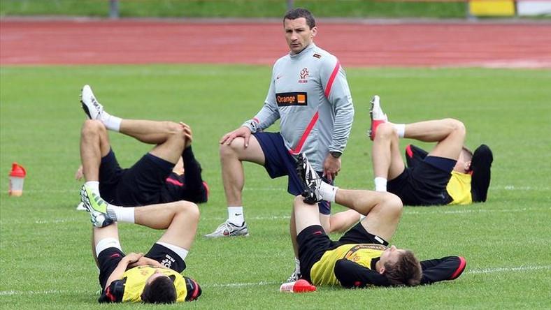 Trening reprezentacji Polski