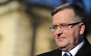 Komorowski: Będę wspierał Tuska, jeśli zdecyduje się na start w wyborach prezydenckich