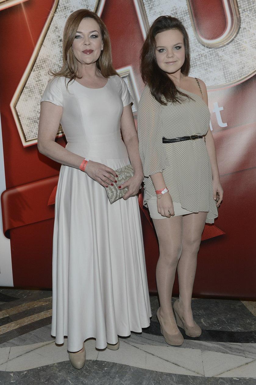 Beata Kawka z córką