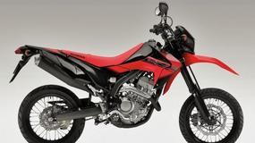 Honda CRF250M – supermoto z ćwiartką dla Europy
