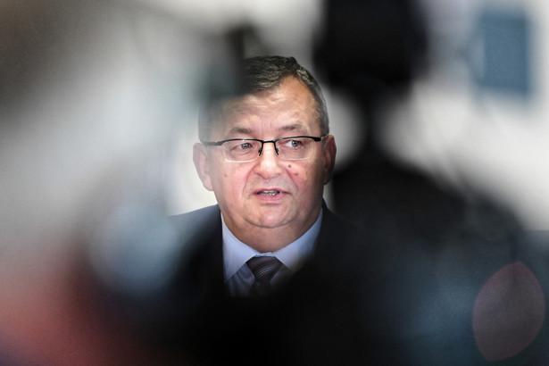 Minister infrastruktury Andrzej Adamczyk