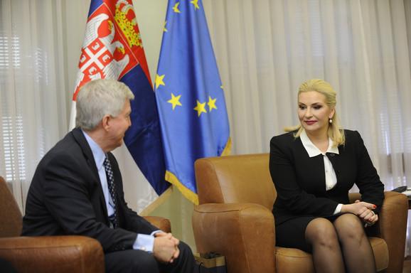 Novi ambasador SAD zakazao sastanak po preporuci svog prethodnika Majkla Kirbija: Kajl Skot i Zorana Mihajlović