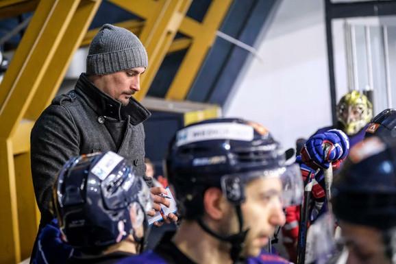 Trener hokejaša Beograda: Nemanja Janković