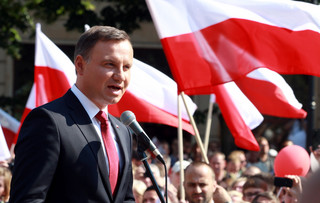 Andrzej Duda w Tychach: Zrobimy wszystko, by dobra zmiana się udała