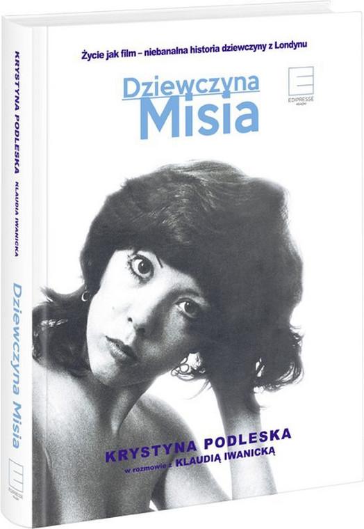 """okładka książki Krystyny Podleskiej """"Dziewczyna Misia"""""""