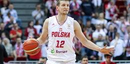 Koszykarz przyleciał na mecz kadry z... reprezentacją Hiszpanii. Mistrzowska podróż Waczyńskiego