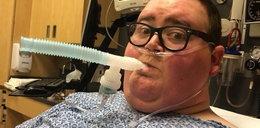 Nie żyje Daniel Wright. Miał raka. Ważył 205 kilogramów!