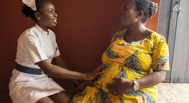Maternal mortality rate in Africa