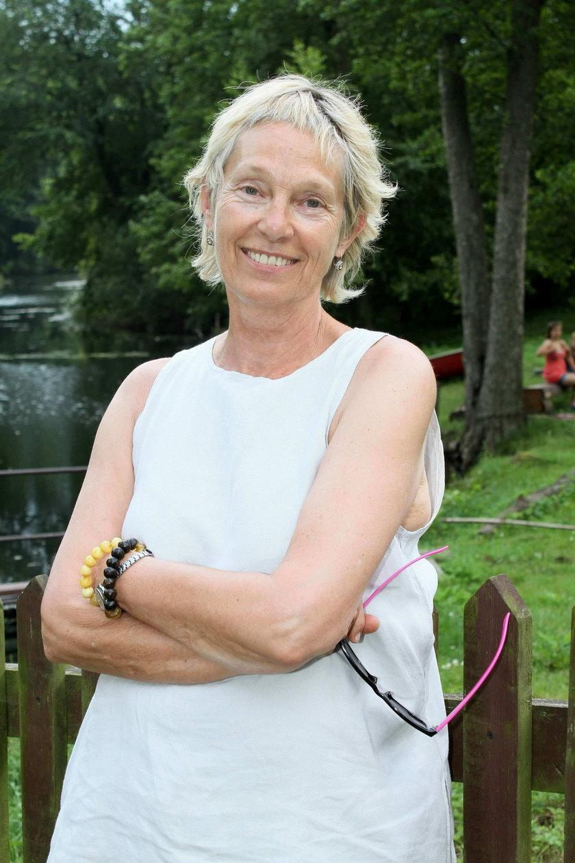 Małgorzata Braunek w lipcu 2010 roku